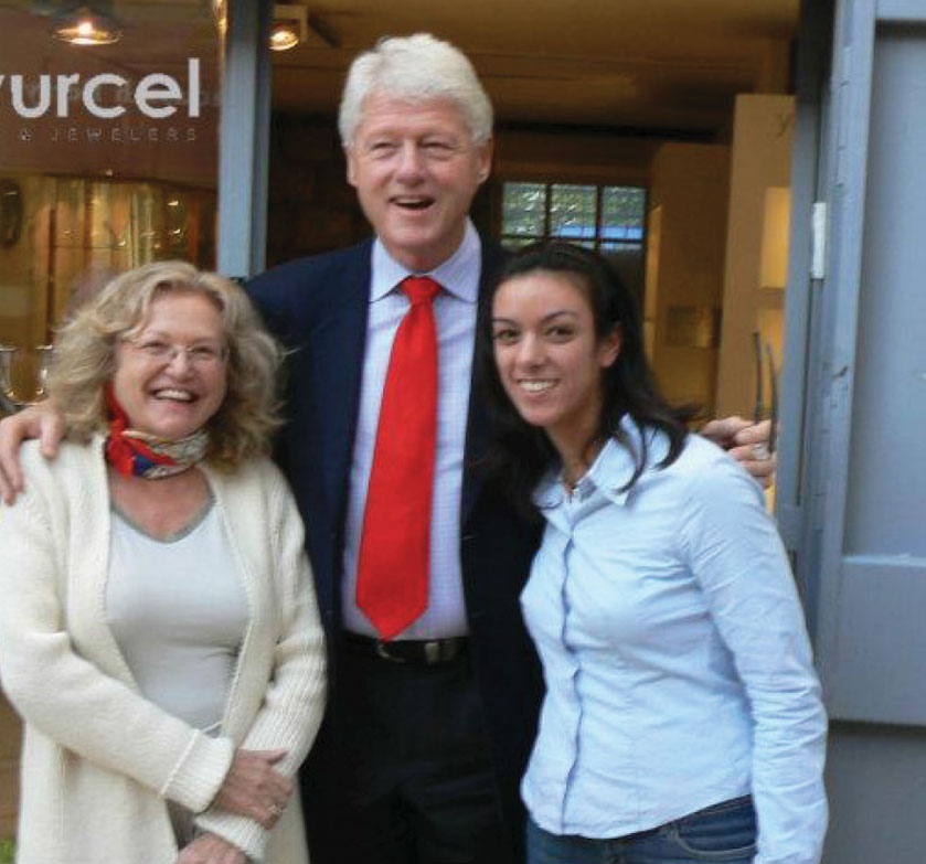 President Bill Clinton at Greenvurcel