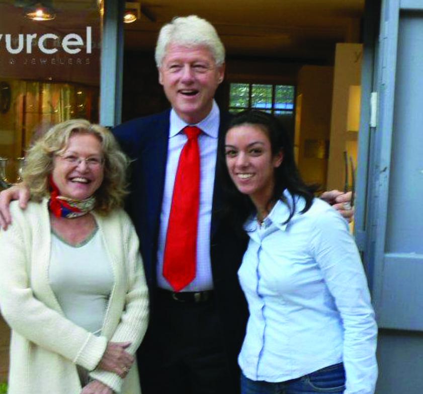 הנשיא ביל קלינטון מבקר בגרינוורצל